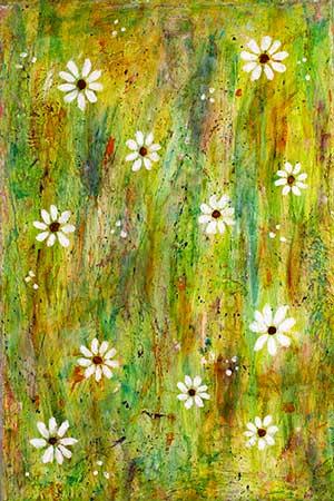 Blomsterflor A (20x30 cm) kr. 450