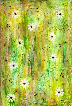 Blomsterflor I (20x30 cm) kr. 450