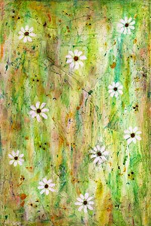 Blomsterflor B (20x30 cm) kr. 450