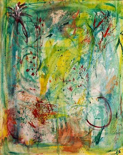 Nature symphony I (40x50 cm) solgt
