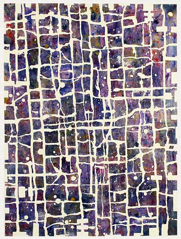 Mosaic abstract II (30x40 cm) kr. 1.500