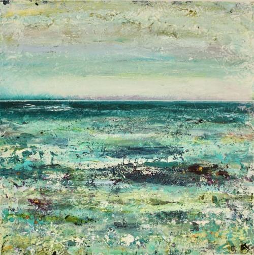 Stranddrømme I (20x20 cm) solgt
