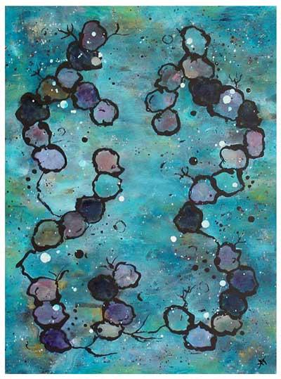 Sea life I (30x40 cm) solgt