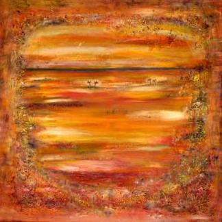 African dreams (90x90 cm) kr. 3.200