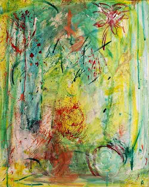 Nature symphony II (40x50 cm) solgt